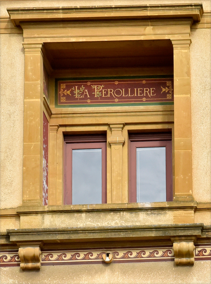 Fenêtre avec nom